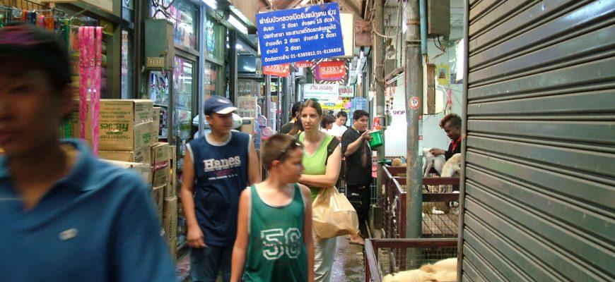 המקום שלא תרצו בשום אופן לפספס – שוק יום ראשון בבנגקוק