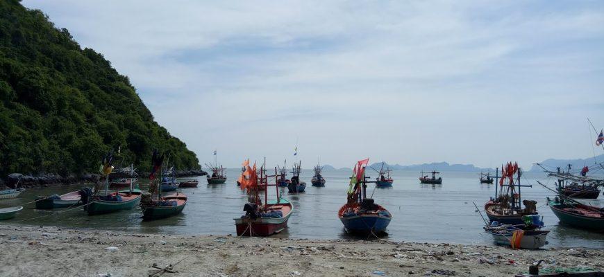 מבנגקוק ועד נקון סי טאמארט- לאורך מפרץ בנגקוק