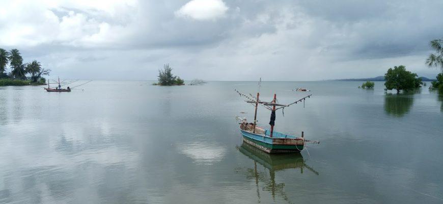 שמים ומים: מפרצון בודד בתאילנד שלי