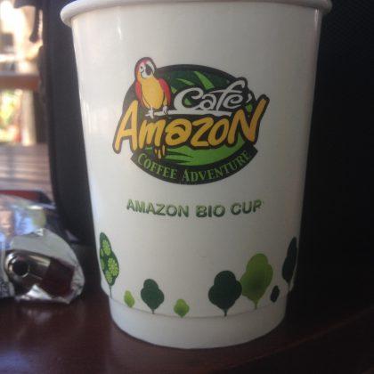 לשתות קפה באמזון