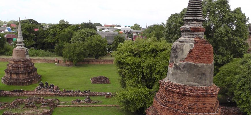 בירתה הקדומה של תאילנד:  איוטאיה –  מסע בזמן